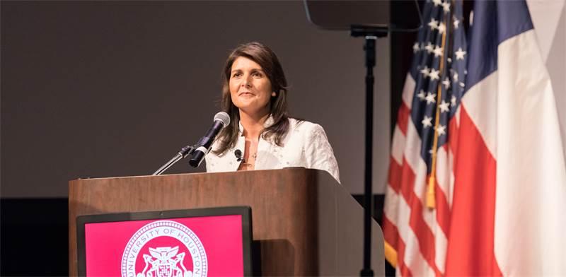 """ניקי היילי, שגרירת ארה""""ב באו""""ם / שאטרסטוק"""