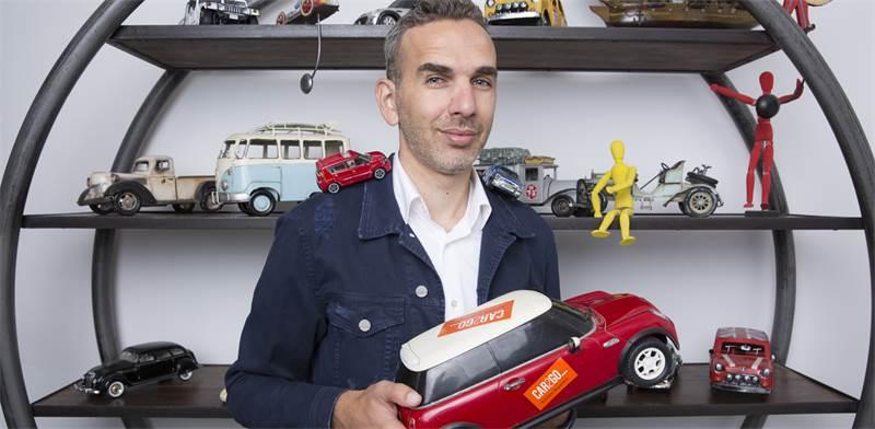 """גיל לייזר, מנכ""""ל CAR2GO / צילום: ענבל מרמרי"""