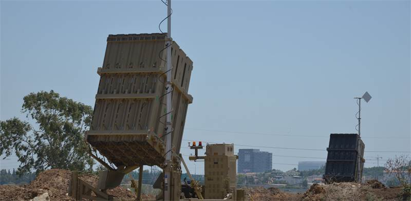 Iron Dome Photo: Tamar Matsafi