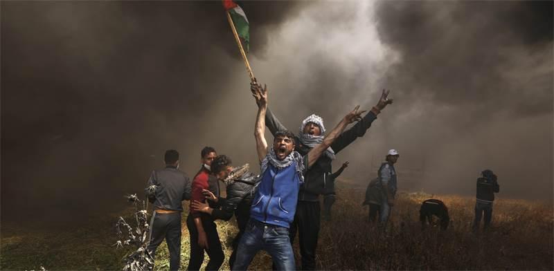 הפגנות והתפרעויות בגבול הרצועה / רויטרס