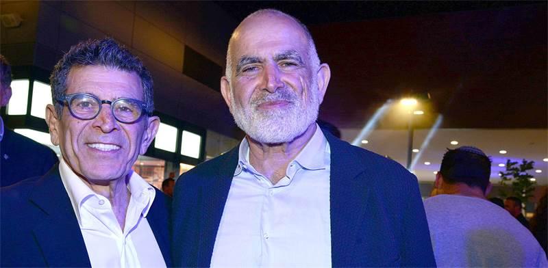 האחים רוני ויהודה נפתלי, בעלי השליטה בביג / צילום: תמר מצפי