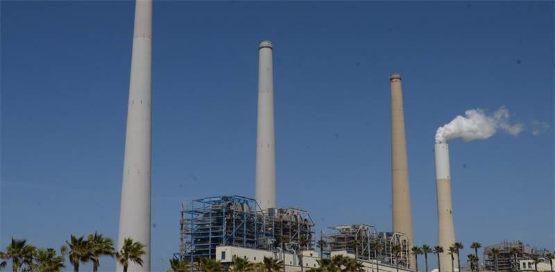 תחנות הכוח הפחמיות בחדרה / צילום: אייל יצהר
