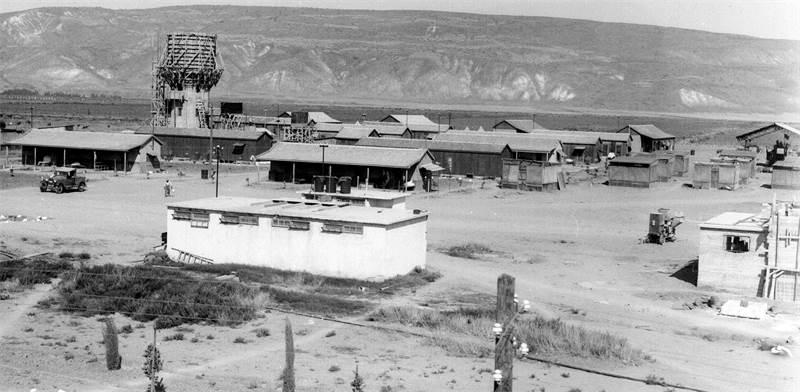 קיבוץ אשדות יעקב בבקעת הירדן בשנת 1937 / צילום: קלוגר זולטן