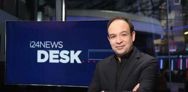 """פרנק מלול, מנכ""""ל ערוץ i24NEWS / צילום: יחצ"""