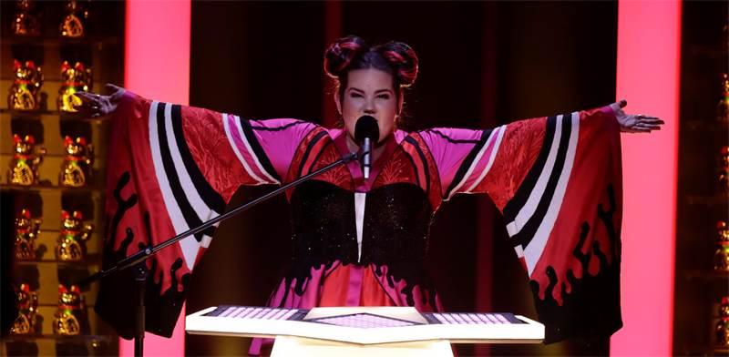 נטע ברזילי באירוויזיון 2018 / צילום: רויטרס