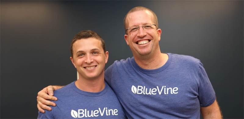 אייל ליפשיץ וניר קלר, מייסדי BlueVine / צילום: בלו ויין