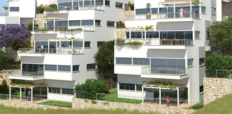 שכונה חדשה ברכסים / הדמיה: משרד ערן מבל אדריכלים