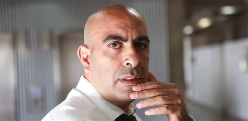 """עו""""ד ברק כהן, מוביל מחאת """"באים לבנקאים"""" / שלומי יוסף"""