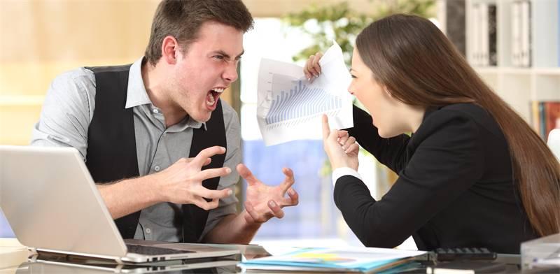 סכסוך במשרד / צילום: שאטרסטוק