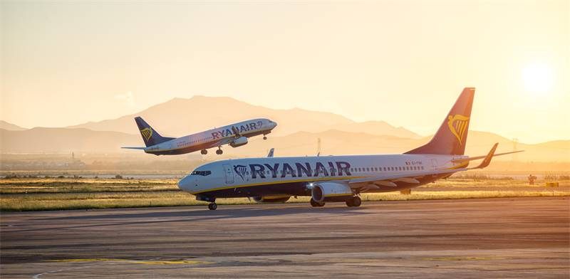 Ryanair Photo: Shutterstock