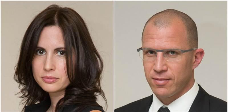 עורכי הדין טל שפירא ואריאל כפרי / צילום: צביקה גולדשטיין
