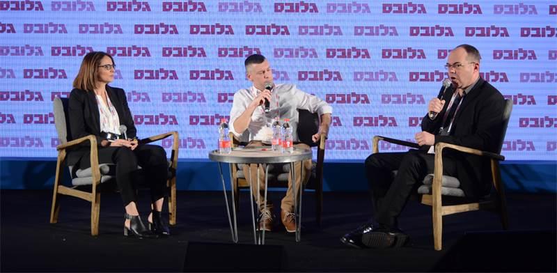 """פאנל """"האם אנו מוכנים להזדקנות האוכלוסייה?"""" בוועידת ישראל לעסקים / צילום: איל יצהר"""