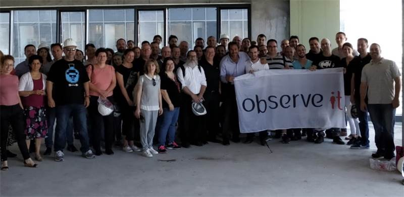 ObserveIT employees Photo: PR