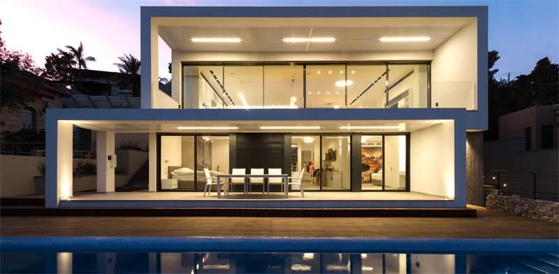 """בית בתכנונו של לוסיאנו סנטנדראו בשכונת דניה בחיפה / צילום: יח""""צ"""