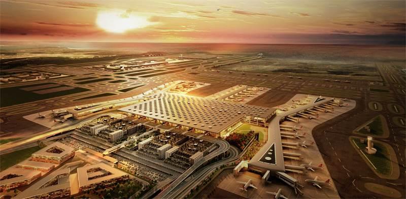 שדה התעופה הטורקי החדש IGA / הדמיה: יחצ