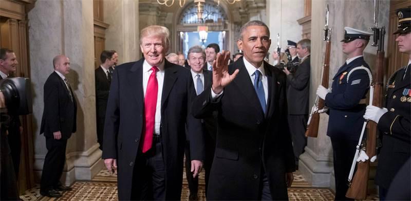 ברק אובמה ודונלד טראמפ / צילום: רויטרס