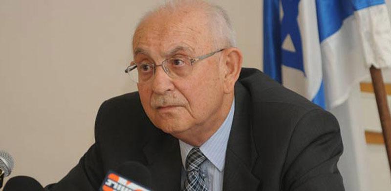 השופט בדימוס אליעזר גולדברג / צילום: אוריה תדמור