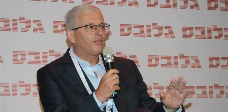 אנדרו אביר, מנהל חטיבת השווקים של בנק ישראל, בכנס שוק ההון \ צילום: איל יצהר