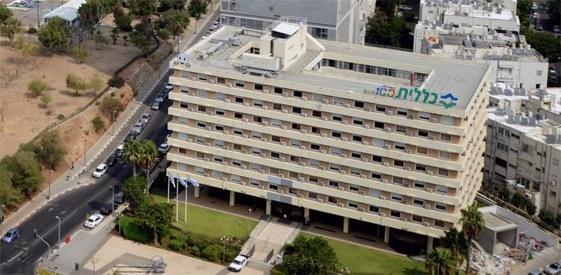 """בניין קופת חולים כללית בת""""א / צילום: איל יצהר"""