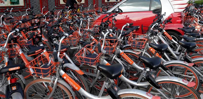 אופניים של מוביק / צילום: רויטרס