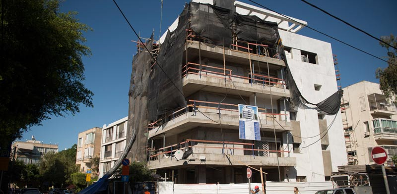 שילה 6, תל-אביב / צילום: באדיבות החברה לחיזוק מבנים.