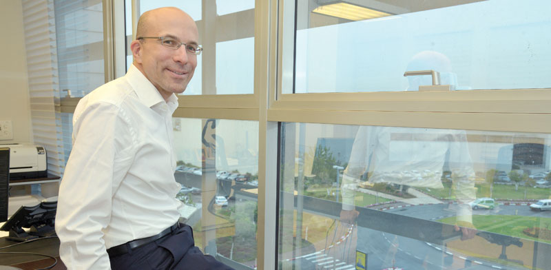 """חן ליכטנשטיין, נשיא ומנכ""""ל אדמה. """"גידול בכל השווקים המרכזיים"""" /  צילום: תמר מצפי"""