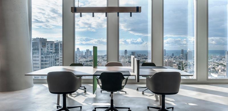 מרכז העסקים של Regus בשרונה, תל אביב/הדמי צילום: סמדר עודד; עיצוב: אורלי דקטר