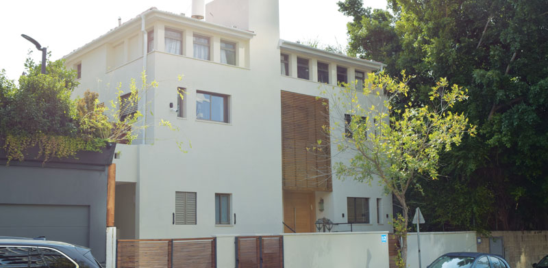 House bought by Eitan Wertheimer Photo: Bar-El