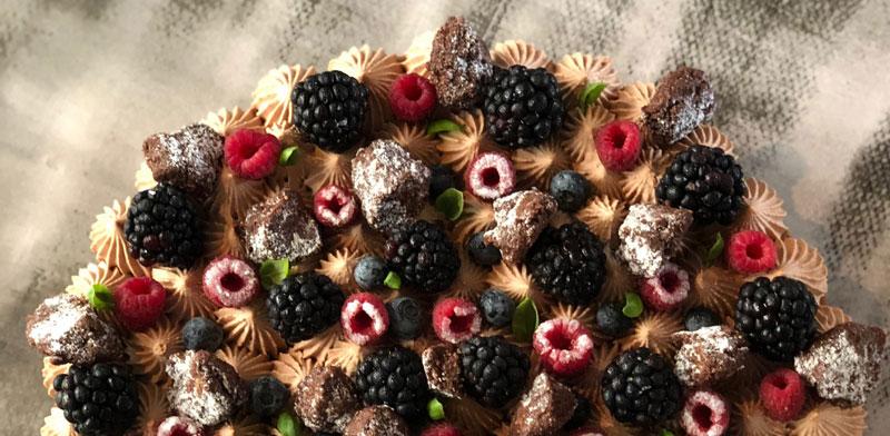 עוגת היער השחור / צילום: ברק כהן