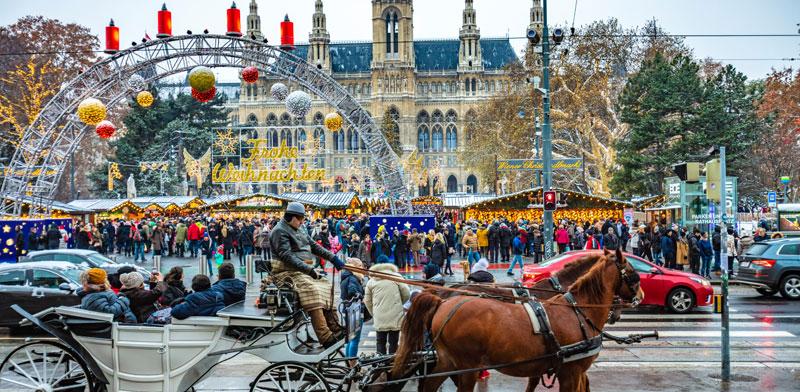 שוק חג המולד בווינה  / צילום: Shutterstock | א.ס.א.פ קריאייטיב