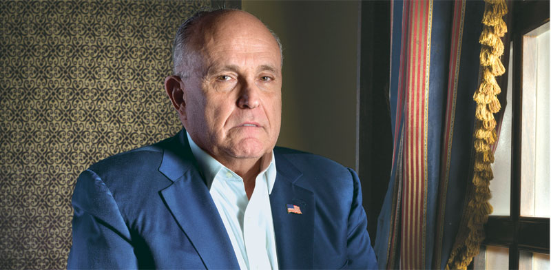 Rudy Giuliani Photo: Jonathan Bloom