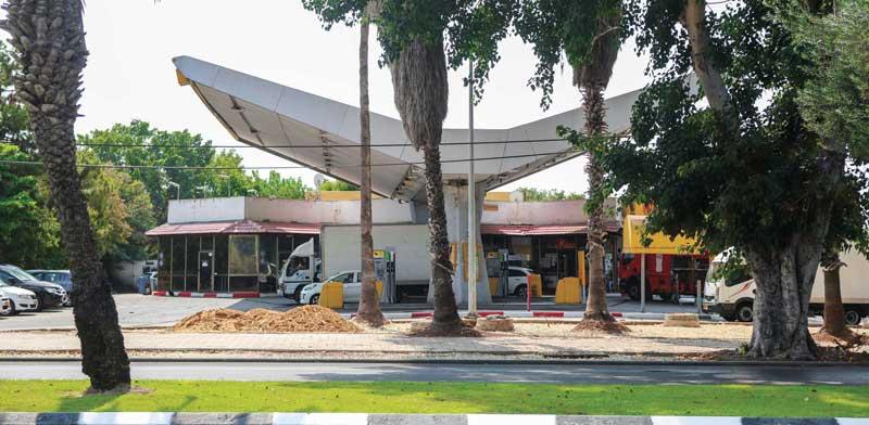 תחנת הדלק בבן צבי / צילום: שלומי יוסף