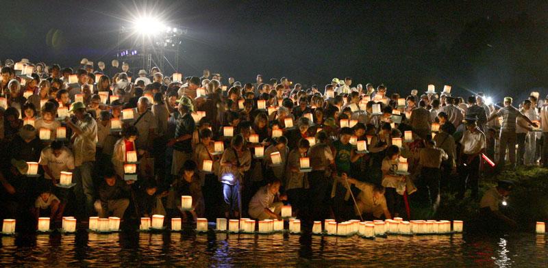 בחג האובון ביפן / צילום: גטי אימאג'