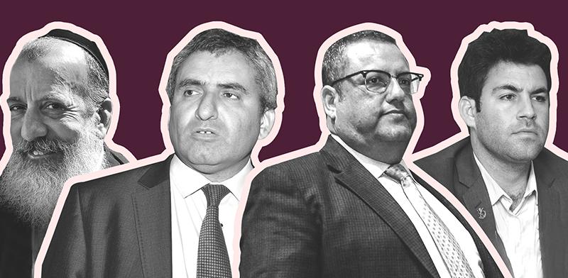 זאב אלקין, משה ליאון, יוסי דייטש ועופר ברקוביץ