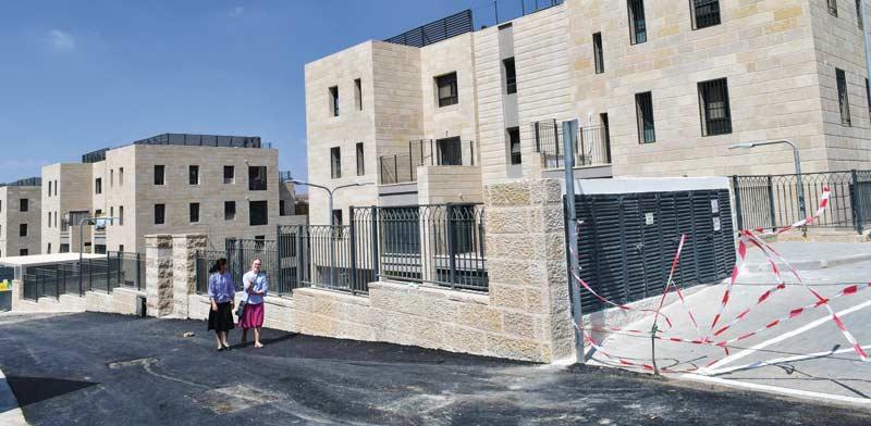 שכונה בבנייה של קבוצת רכישה חרדית בירושלים / צילום: רפי קוץ