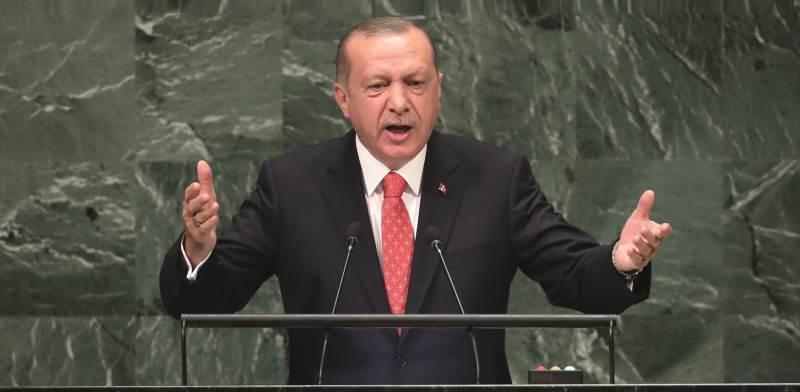 נשיא טורקיה רג'פ טאיפ ארדואן / צילום: רויטרס, Carlo Allegri