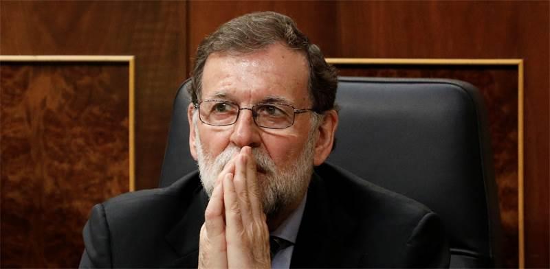 ראש ממשלת ספרד מריאנו ראחוי / צילום: רויטרס