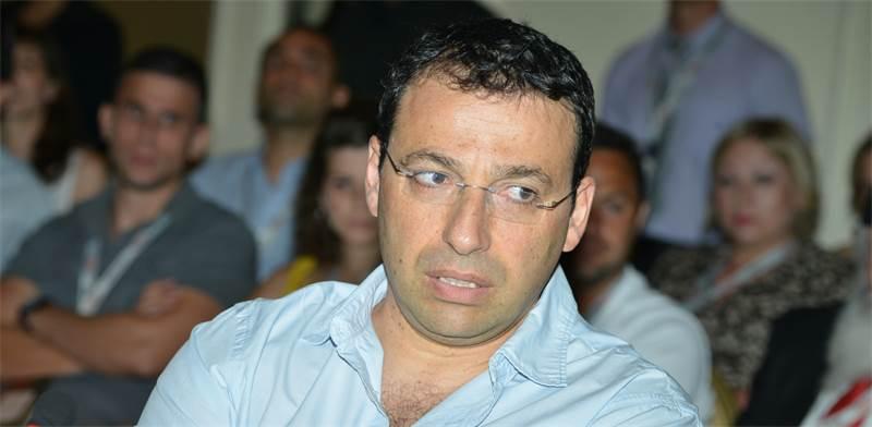 """רביב דרוקר, עיתונאי """"המקור"""" / צילום: תמר מצפי"""
