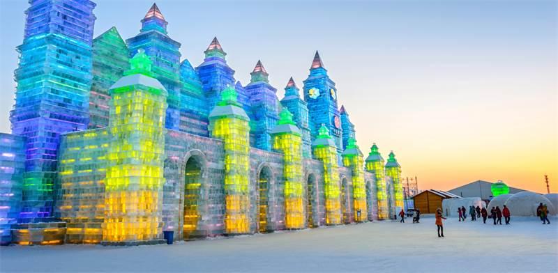 עיר קרח בחארבין, סין / צילום: SHUTTERSTOCK