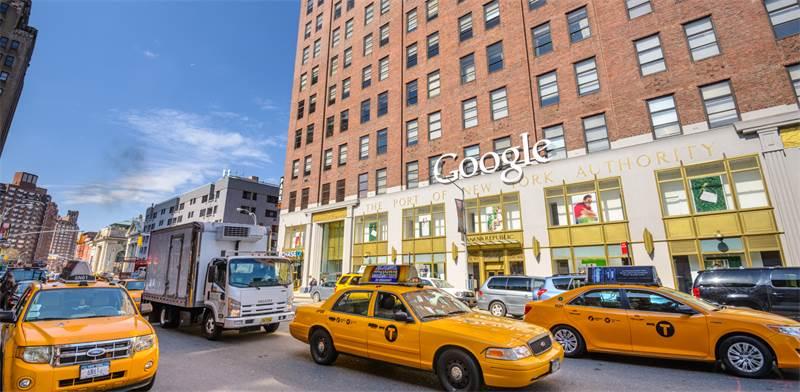 משרדי גוגל במנהטן / צילום: shutterstock