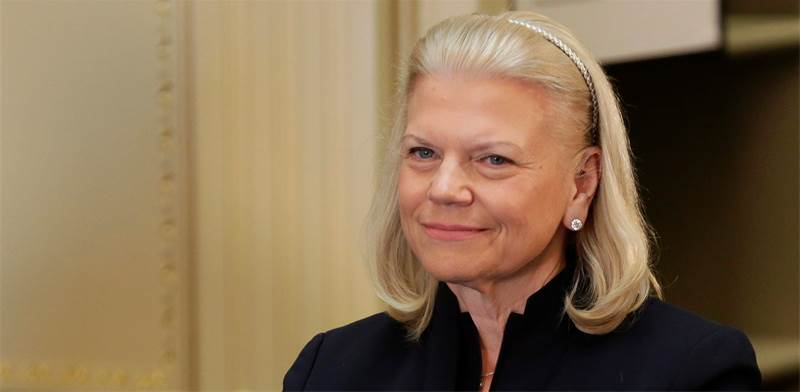 """גיני רומטי, יו""""ר ומנכ""""לית IBM / צילום: ג'ושואה רוברטס, רויטרס"""