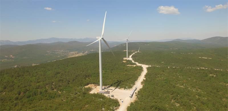 פרויקט הרוח של אנלייט בקרואטיה / אנלייט אנרגיה מתחדשת