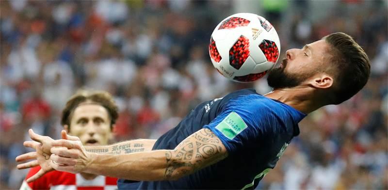 נבחרת צרפת במשחק הגמר הערב / צילום: רויטרס