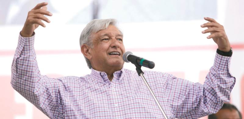 נשיא מקסיקו, אנדרס מנואל לופז אוברדור. נטייה אוטוקרטית מובהקת / צילום: רויטרס, Stringer