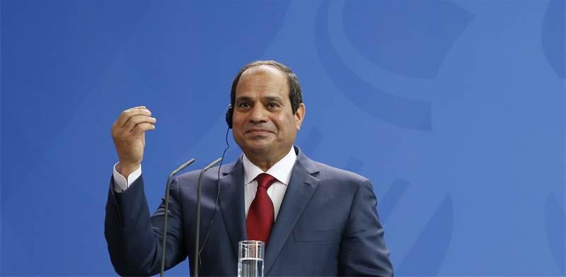 """נשיא מצרים, עבד אל פתאח סעיד חוסיין ח'ליל א-סיסי / צילום: יח""""צ"""