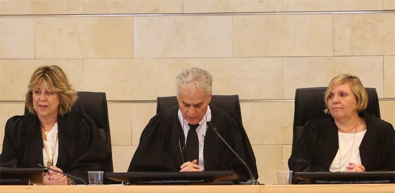 שופטי בית הדין לענייני עבודה / צילום: שלומי יוסף