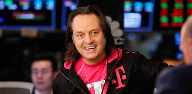 "מנכ""ל T-Mobile, ג'ון לגרה / צילום: ברנדנ מקדרמיד, רויטרס"
