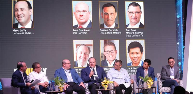 """משתתפי פאנל IPO בכנס Journey / צילום: יח""""צ"""