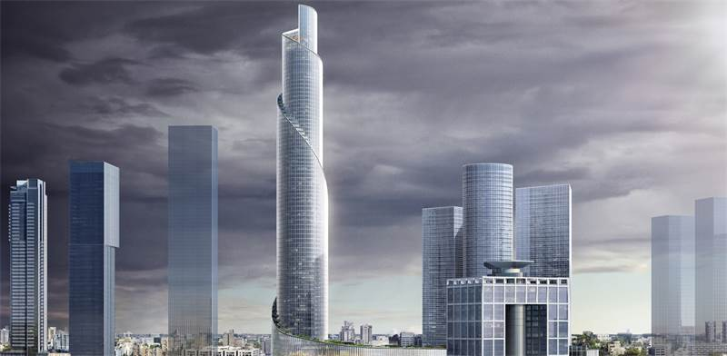 Impression of Azrieli Spiral Tower