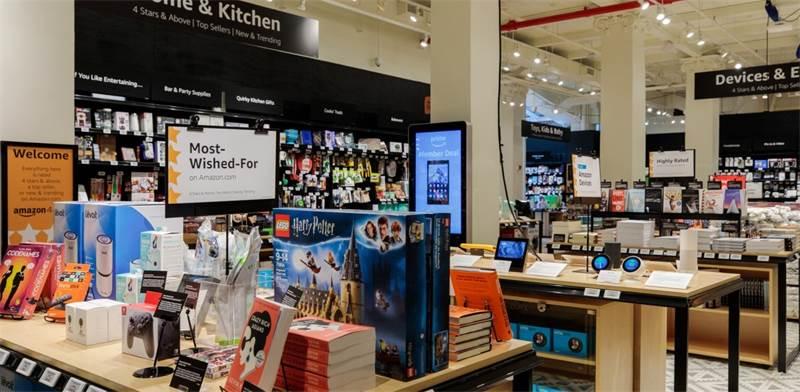 החנות של אמזון בניו-יורק / צילום JORDAN STEAD